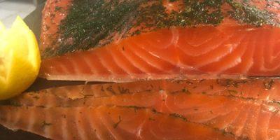 Saumon de Norvège mariné à l'Aneth (300 g)